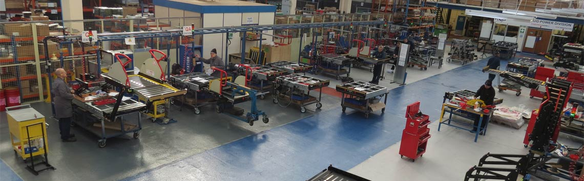 Passenger Lift Services shot of the factory