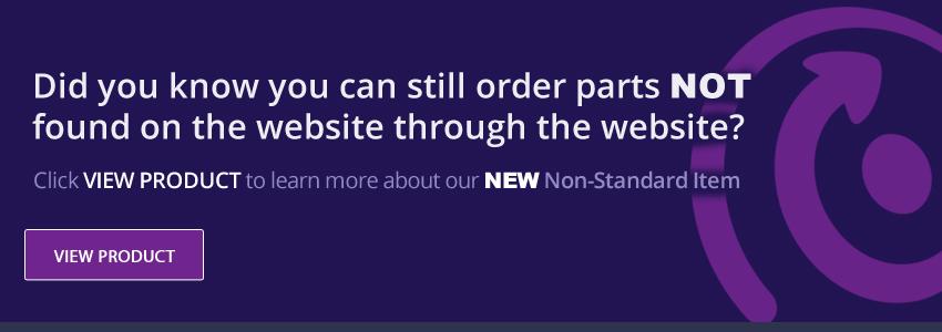 Non-standard item order